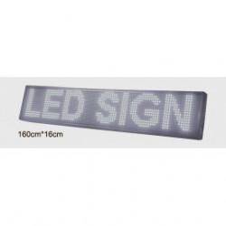 Ecran d'affichage LED Blanc